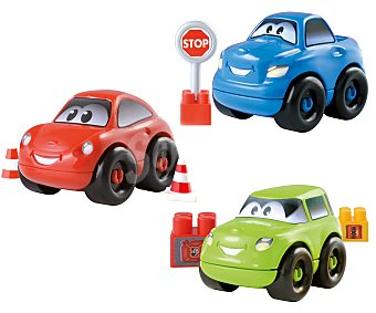 Ecoiffier Surtido de coches Abrick desmontables de colores, incluye 8 piezas 1 unidad