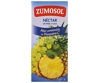 Zumosol Nectar de piña 100% Sabor Brik 1 litro