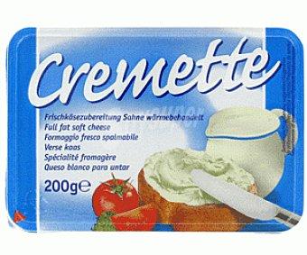 Cremette Queso Blanco para untar Cremette 200 Gramos