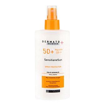 Les Cosmétiques Spray solar para piel sensible SP 50+ Dermato Science 200 ml