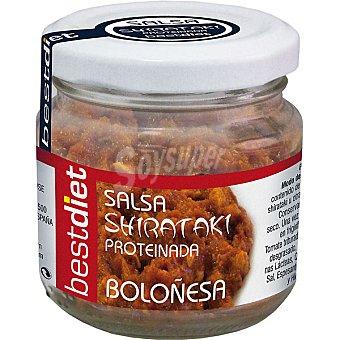 BESTDIET salsa shirataki proteinada boloñesa envase 80 g