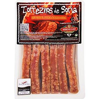 Moreno saez Torreznos de Soria especial para barbacoa peso aproximado Bandeja 450 g