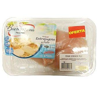 Compañeros Pechuga extrajugosa de pollo bandeja 200 g peso aproximado Bandeja 200 g