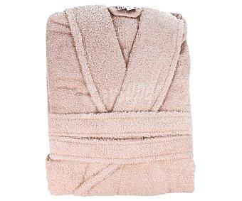 Actuel Albornoz adulto tejido rizo 100% algodón color visón, talla M, densidad de 380 g/m² 1 unidad