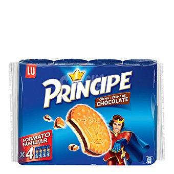 Príncipe Galletas rellenas con crema de chocolate Pack de 4x250 g