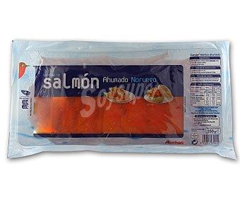 Auchan Salmón ahumado noruego 250 gramos