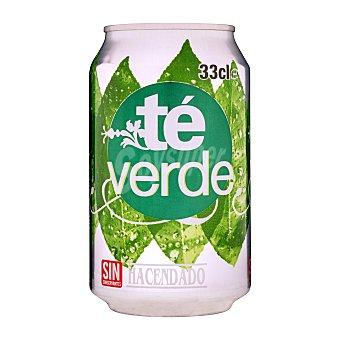 Hacendado Refresco té verde LATA 330 cc