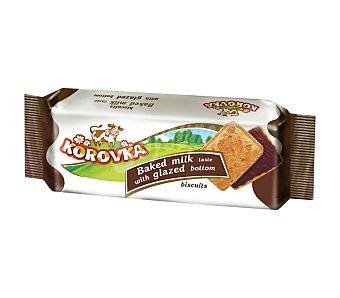 KOROVKA Galletas cubiertas de chocolate Paquete 115 g