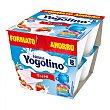 Pack Ocho de Fresa 8x100 gr Pack 8 x 100 g Yogolino Nestlé