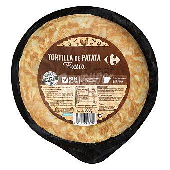 Carrefour Tortilla de patata sin cebolla sin gluten 500 g