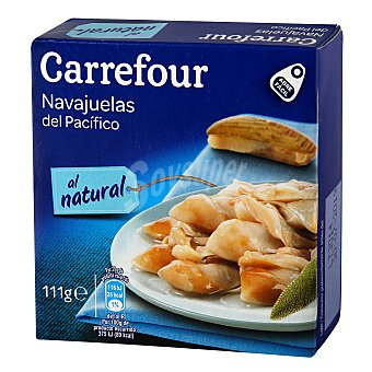Carrefour Navajuela al natural 63 g escurrido