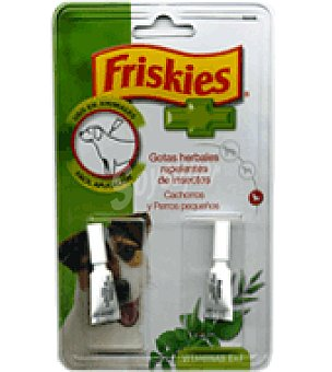 Friskies Purina Gotas herbales cachorro Friskies 2 un