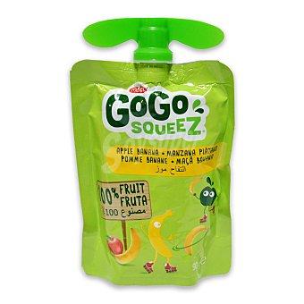 Gogo Squeez Preparado de manzana y plátano 100% fruta Envase 90 g
