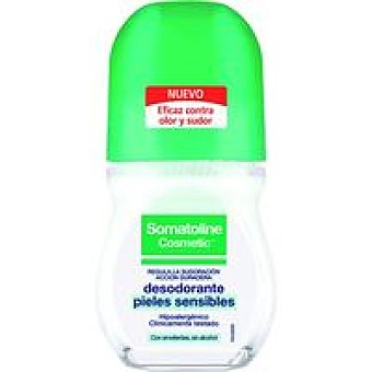 Somatoline Cosmetic Desodorante piel sensible mujer roll-on 50 ml