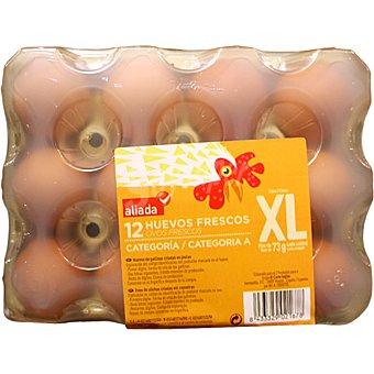 Aliada Huevos frescos categoría A clase XL Estuche 12 unidades