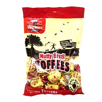 Walkers Caramelos toffee nueces 150 g