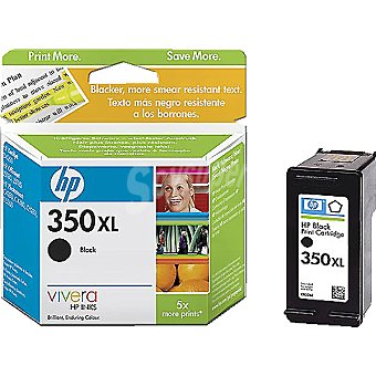 HP Nº 350 XL cartucho color negro