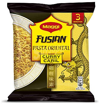 Maggi pasta oriental sabor curry  sobre 70 g