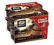 Mousse de chocolate con chocolate crujiente pack de 57 gramos 8 unidades Nestlé Gold