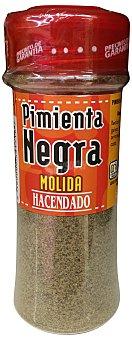 Hacendado Pimienta negra molida (tapon rojo) Tarro 70 g