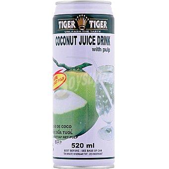 TIGER TIGER Jugo de coco con pulpa Envase 520 ml