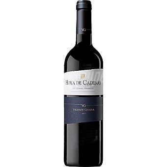 HOYA DE CADENAS Vino tinto reserva privada D.O. Utiel Requena botella 75 cl Botella 75 cl