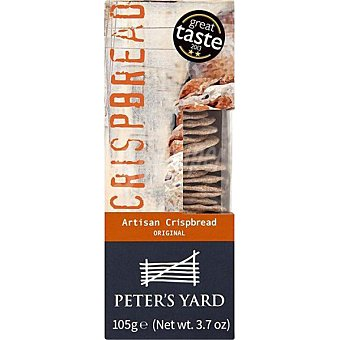 PETERS YARD Chispbread crackers artesanos estuche 105 g estuche 105 g