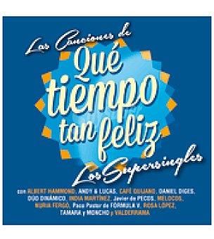 Las canciones de que tiempo tan feliz cd (supersingles)