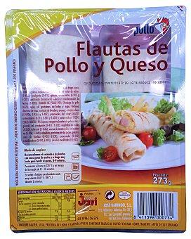 Pinchos Jovi Flautas bacon y queso Paquete 276 g (2 unidades)