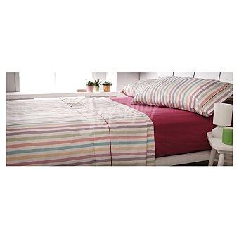 CASACTUAL Nightdress juego de cama con rayas multicolores