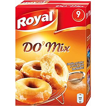 ROYAL preparado para hacer Do' Mix 9 raciones con molde cortador y azúcar glass incluido estuche 381 g