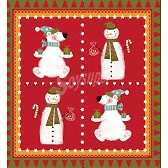 PAP STAR servilletas Frosty Friends 3 capas 33x33 cm  paquete 20 unidades