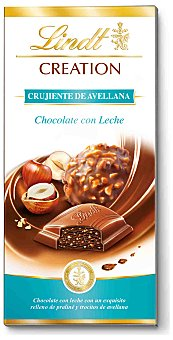 Lindt Chocolate crujiente avellana Creation 100 g