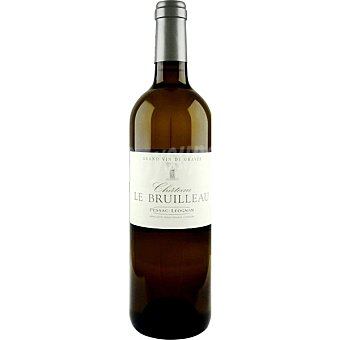 CHATEAU LE BRUILLEAU Vino blanco pesasac leongnac de Francia Botella 75 cl