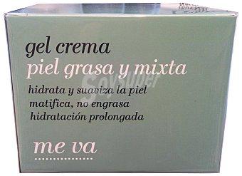 DELIPLUS Crema facial en gel piel grasa y mixta Me Va TARRO 50 cc