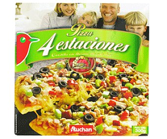 Auchan Pizza 4 Estaciones 300g