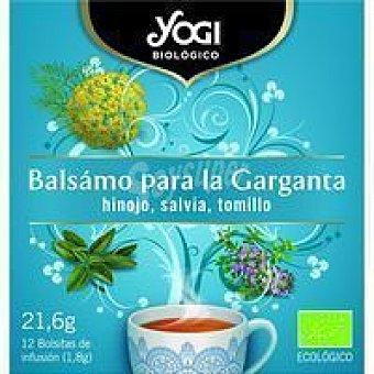 Yogi Tea Té bálsamo garganta caja 20 g