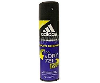 ADIDAS Desodorante Spray para Hombre Energy Triple Acción 200 Mililitros