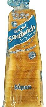 HACENDADO Pan molde blanco sandwich Paquete de 820 g