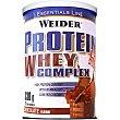 Protein Whey Complex batido de proteinas con sabor a chocolate bote 330 g WEIDER