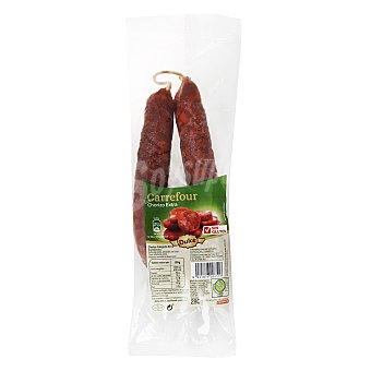 Carrefour Chorizo tradicional extra sarta - Sin Gluten 280 g