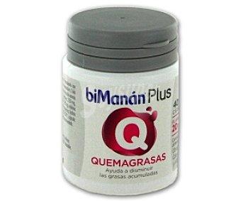 BIMANÁN Plus Quemagrasas, complemento alimenticio para ayudar en dietas de control de peso 40 C