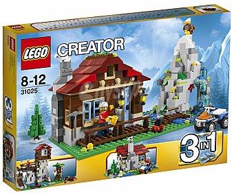 LEGO Juego de Construcciones Creator, Cabaña de Montaña 3 en 1, Modelo 31025 1 Unidad