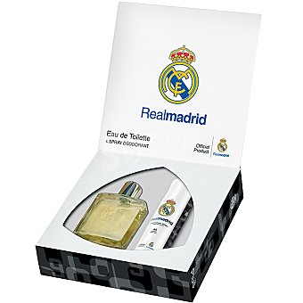 REAL MADRID eau de toilette Clásica masculina + desodorante Spray 100 ml