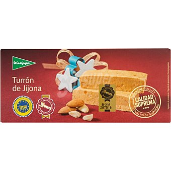 El Corte Inglés Turron de Jijona Sin Gluten Calidad Suprema tableta 250 g Tableta 250 g