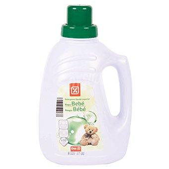 DIA Detergente ropa bebé a mano y a máquina botella 30 lv
