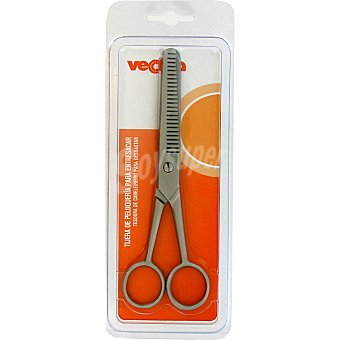 Veckia Tijera de peluquería para entresacar blister 1 unidad