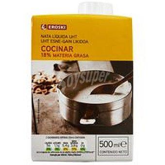 Eroski Nata para cocinar Brik 500 ml