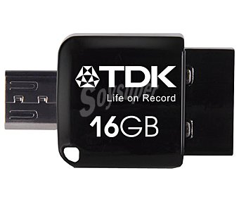 TDK MINI 2 EN 1 OTG Memoria 16GB Usb 2.0