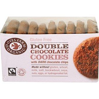 DOVES FARM ORGANIC Cookies Double Chocolate con pepitas de chocolate Envase 150 g